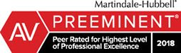 Martindale-Hubbell_Preeminent Law Firm Wake Forest & Raleigh